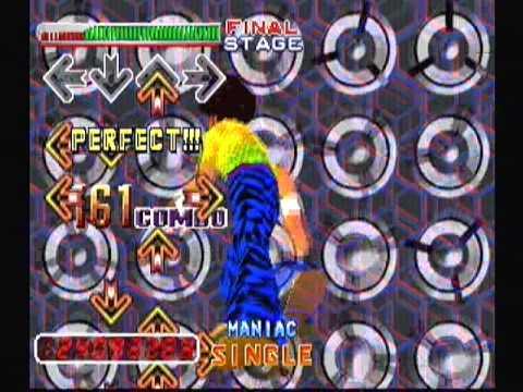 PARANOiA MAX ~DIRTY MIX~ / Single / Maniac - Dance Dance Revolution 2nd ReMIX, Playstation