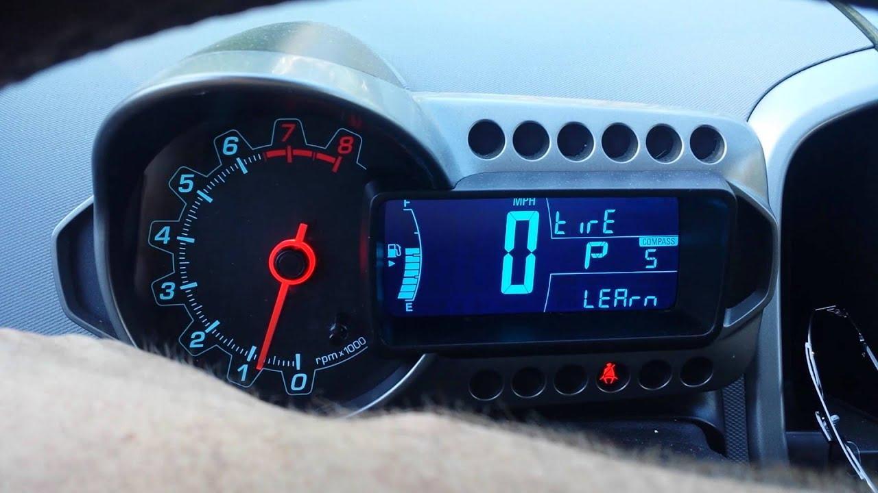 Chevrolet Sonic Repair Manual: Vehicle Yaw Sensor Learn