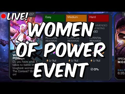 Women Of Power Event - International Women's Day! - Marvel Contest Of Champions