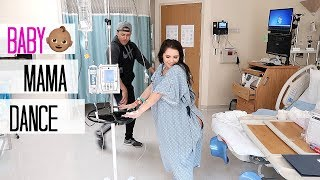 THE BAY FAMILY BABY MAMA DANCE!!! *DURING LABOR*