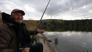 Рыбалка на озере Бузим сентябрь 2021