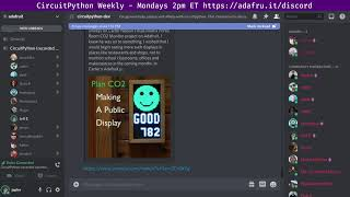 CircuitPython Weekly Meeting for April 19, 2021 @circuitpython #circuitpython #adafruit
