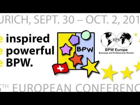 BPW EUROPEAN CONFERENCE ZURICH 2016
