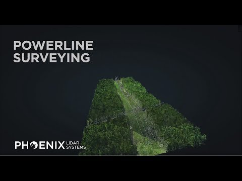 Mapping Power Lines with Phoenix LiDAR Systems