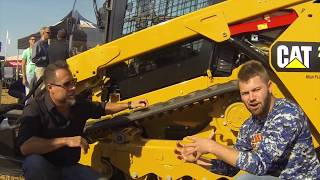Caterpillar Skid Loader Vs  BobCat Skid Steer at the GIE-Expo