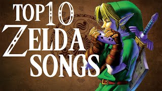 Top 10 Zelda Songs(2015)