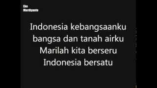 Indonesia Raya - minus one