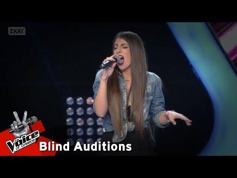 Μαρκέλλα Χατζημίτση - Mamma knows best | 12o Blind Audition | The Voice of Greece