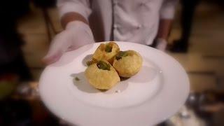Molecular Gastronomy Pani Puri - Marriott Hyderabad