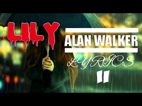 lily-alan-walker-(k-391)--musik-visualizer-audio-spectrum-lyrics