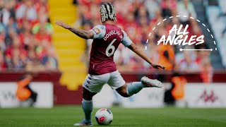 All angles: Douglas Luiz screamer