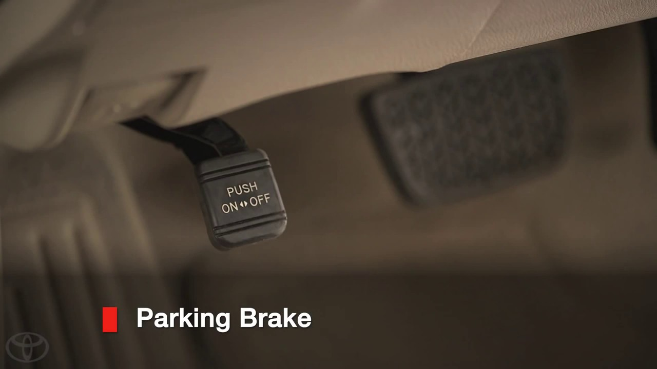 Camry How To Parking Brake 2014 5 Toyota Camry Youtube