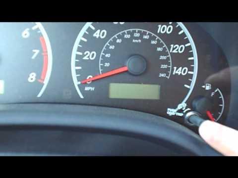 How to Reset Oil Change Light - 2009 Toyota Corolla