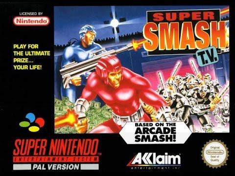 SNES Super Smash T.V. Video Walkthrough