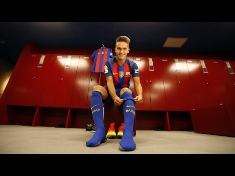 BEHIND THE SCENES: Denis Suárez is back home