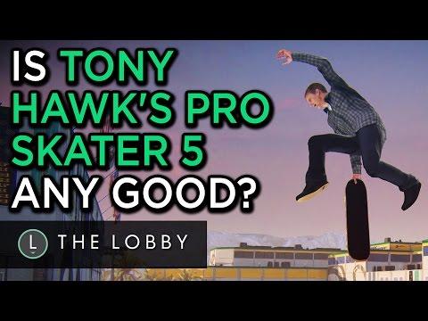 Is Tony Hawk's Pro Skater 5 Any Good? - The Lobby