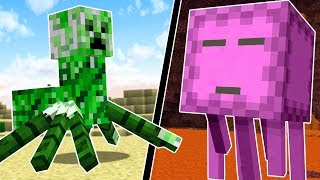 WHAT ARE THESE NEW MINECRAFT MOBS?! | Minecraft Mods