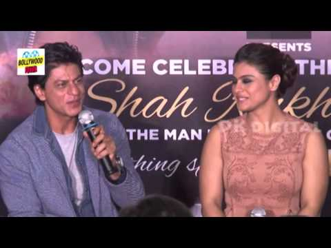 Shahrukh Khan Kajol At Dilwale 2nd Trailer Launch