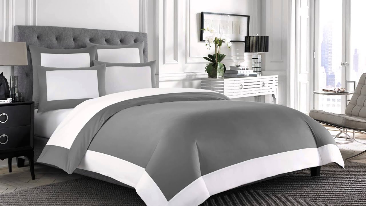 wamsutta hotel microcotton reversible duvet cover at bed bath beyond youtube. Black Bedroom Furniture Sets. Home Design Ideas