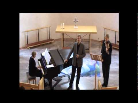 Petersen and Bengtsson perform Ave Maria by Luzzi in S:ta Anna Helsingborg 2010