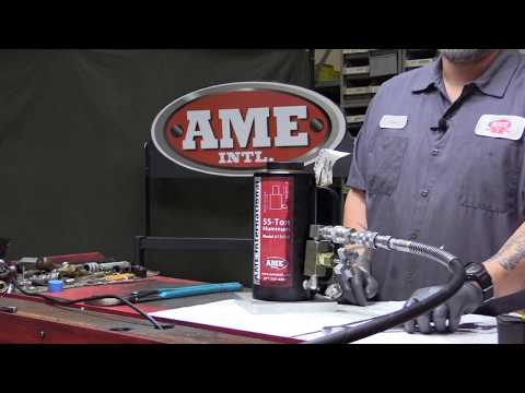 Troubleshooting and Maintenance Air Hydraulic Rams and Cylinders FULL VIDEO