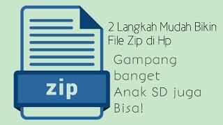 9 Cara Membuat File Zip Di Hp Android Termudah Iskandarnote Com
