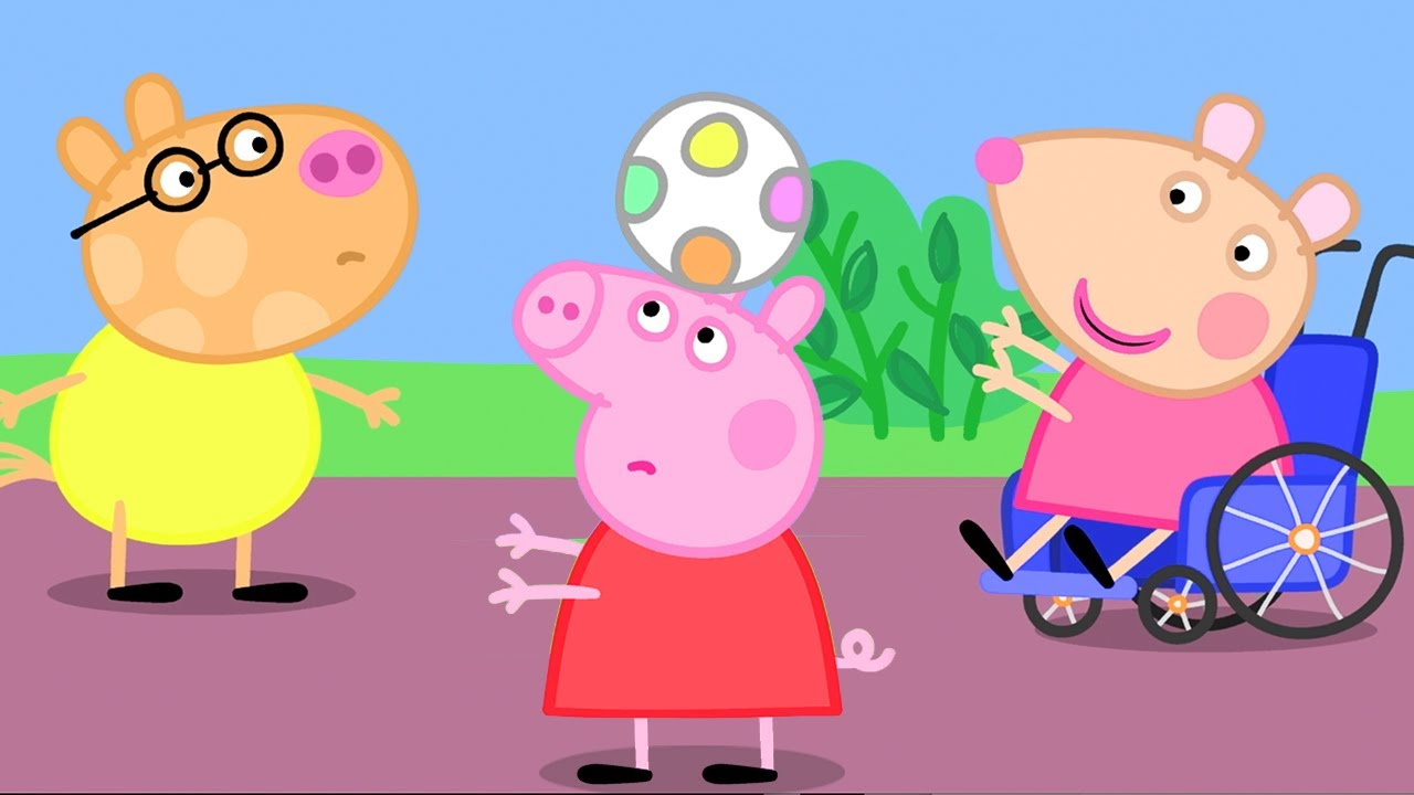 Peppa Pig Official Channel | Peppa Pig's New Friend - Mandy Mouse!