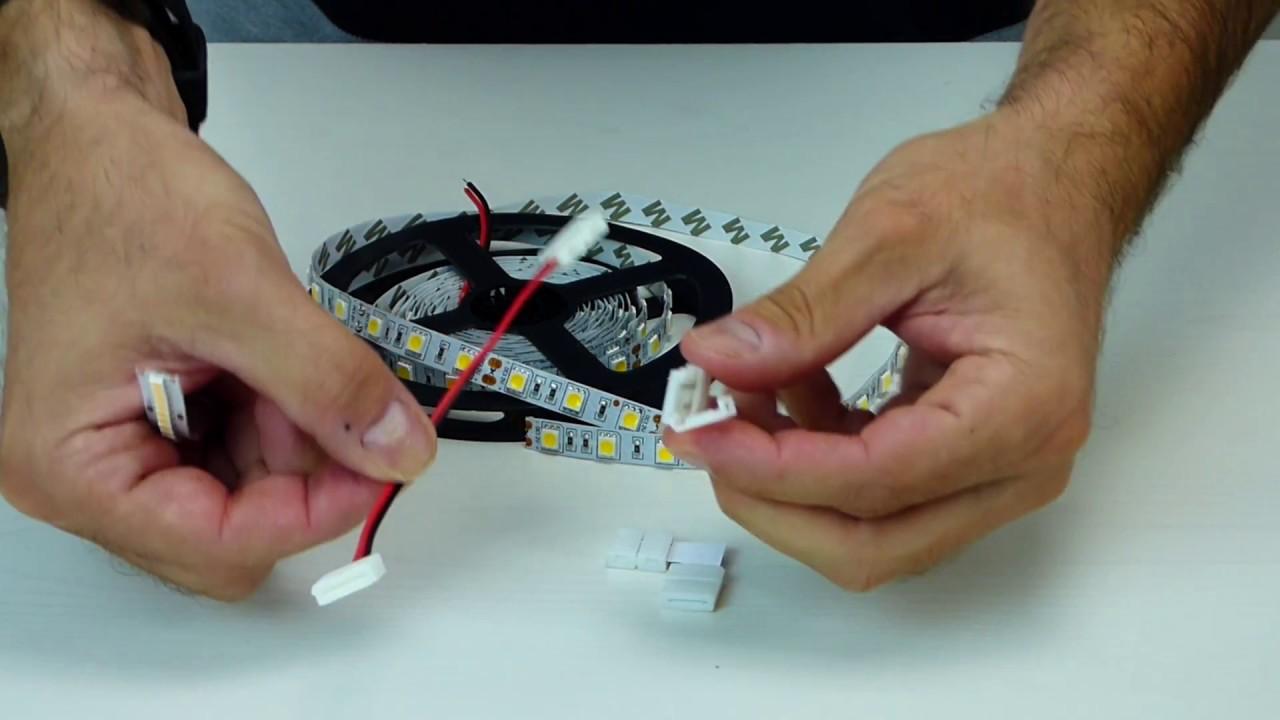Strisce di LED: tutorial collegamenti | sunisyou