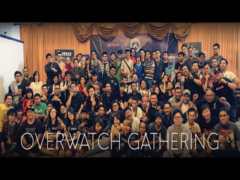 Overwatch Gathering Jakarta Hosted by Blizzard Gamers Indonesia