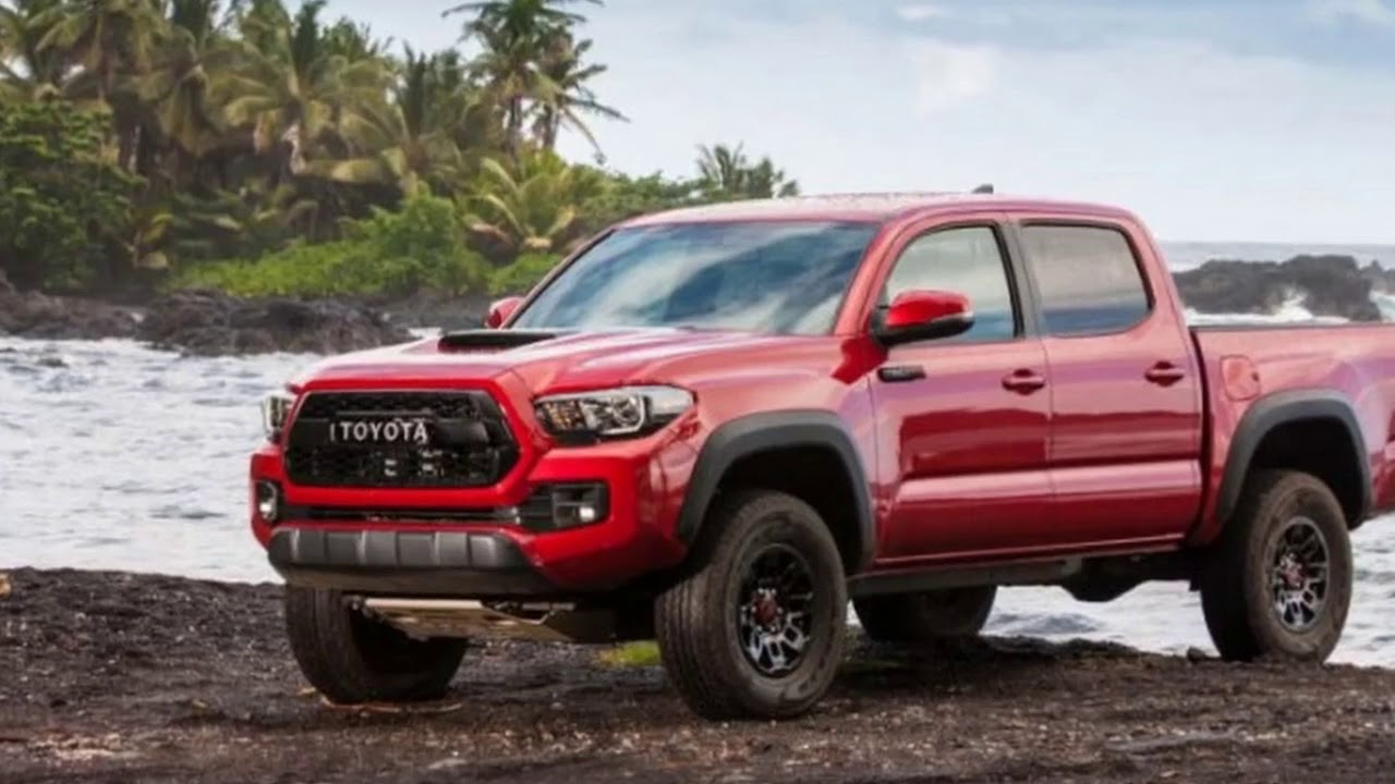 All New 2018 Toyota Tacoma Interior Exterior