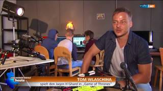 Tom Wlaschiha: Interview at the Jugendfilmcamp Arendsee