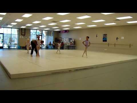 Ballet I class at North Las Vegas Ballet Theater