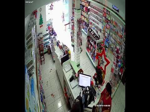 Laranjal: Homem armado assalta farmácia