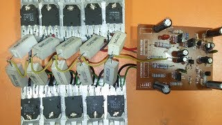 how to add more transistor to amplifier  Upgrade Power amplifier  A1941 & C5198