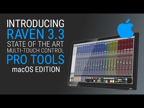 RAVEN 3.3 for macOS – Pro Tools Quick Start