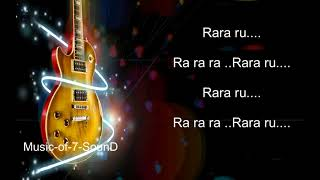 Chhoti si Pyari si Nanhi si karaoke With Lyrics