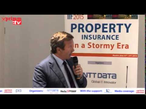 IIF 2015 - Property Insurance in a Stormy Era  Dott. ing. Carlo Tozzi SPADONI Co-Founder, Insurance