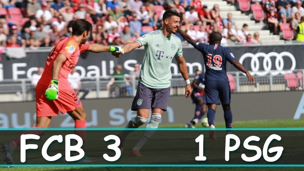 Download ICC 2018 || Bayern München vs PSG 3 1Full Highlights and goals HD1080P || English Comentary