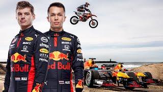 Max Verstappen takes Alex Albon on a Dutch Road Tr...
