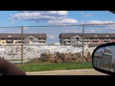 Prospect Drive Fort McMurray Alberta post wildfire June 5 2016