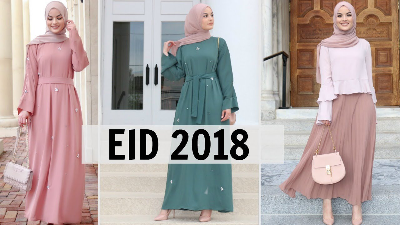 e5c573a530ec EID LOOKBOOK 2018 IDEAS | Omaya Zein - YouTube