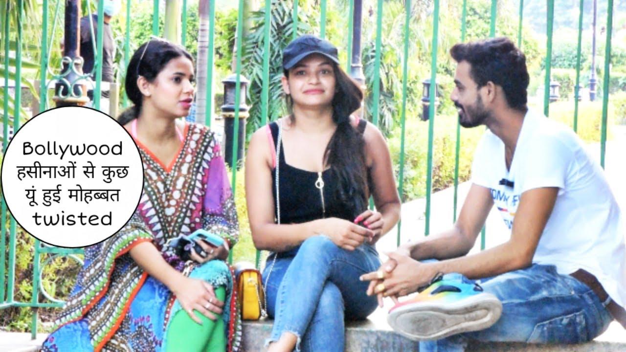 Bollywood हसीनाओ से कुछ यू हुई मोहब्बत twisted prank    Vivek golden