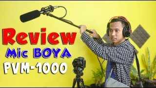 Mic MURAH buat SYUTING FILM / Short Movie !! Unboxing & Review Microphone Boya PVM-1000 Indonesia