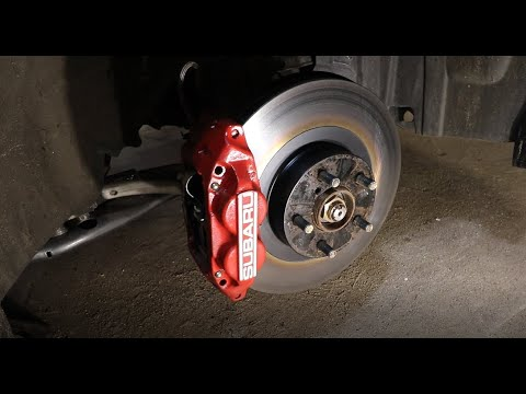 How To Install WRX Brake Calipers On A Forester EASY