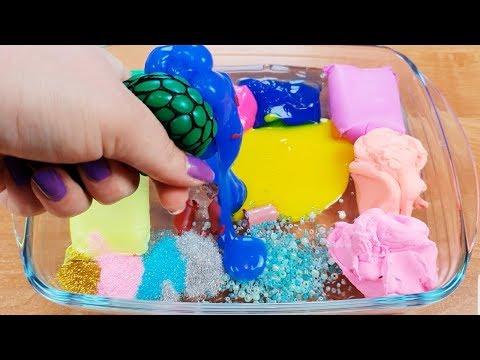 Mélanger des choses aléatoires dans slime - Super Satisfaisant vidéo!!