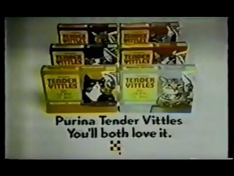 Purina Tender Vittles Commercial (1974)