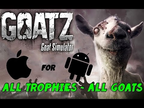 Goat Simulator: GoatZ All Trophies and All Goats for iOS Android | HD