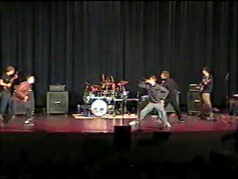 "Nehemiah / Dead To Fall cover Cave In ""Moral Eclipse"" at Maple Grove Senior High in 2002"