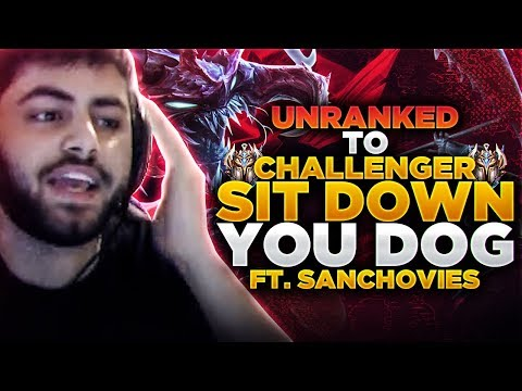 Yassuo | SIT DOG Ft. Sanchovies (Unranked to Challenger)
