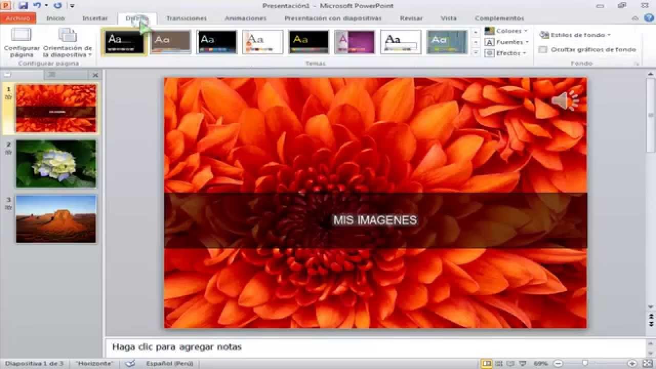 Como Hacer Videos Con Foto Y Musica En Microsoft Powerpoint 2010